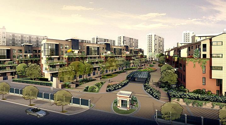 75平方公里森兰绿地,集国际级规划的商业,休闲,娱乐,住宅于一体,公园